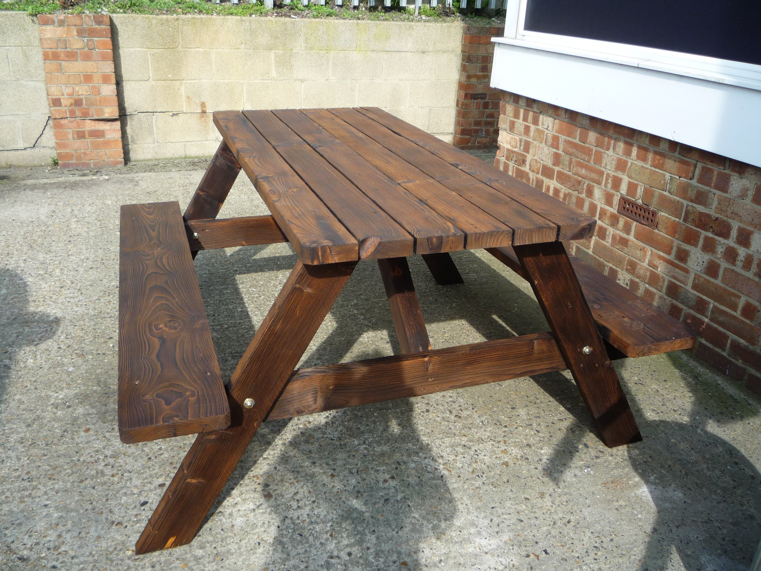Reclaimed scaffold boards flooring tables gilray for Reclaimed decking boards