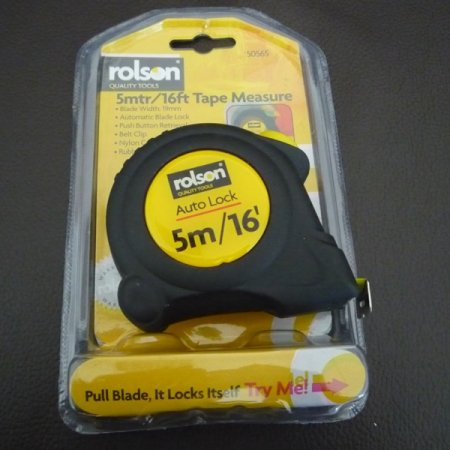 Tape Measure 5m/16ft