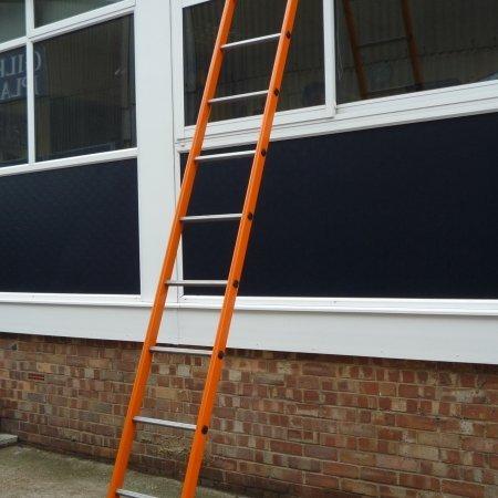 Lightweight 3.0 Orange Steel Ladder