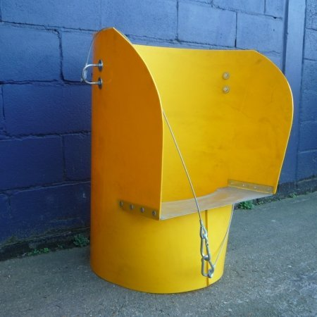 Rubbish Chute - Yellow Y side entry section