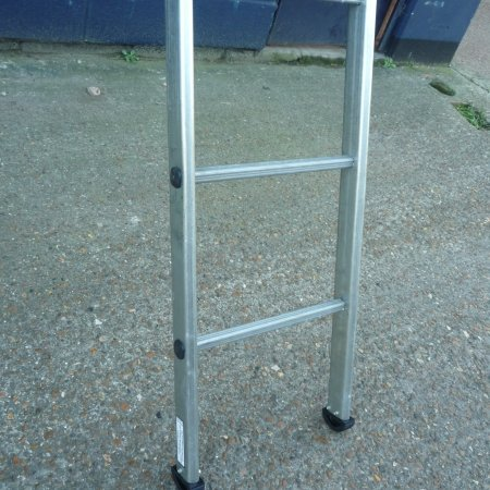 Ladder 3.5m Silver HDG