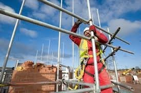 Scaffolder at work